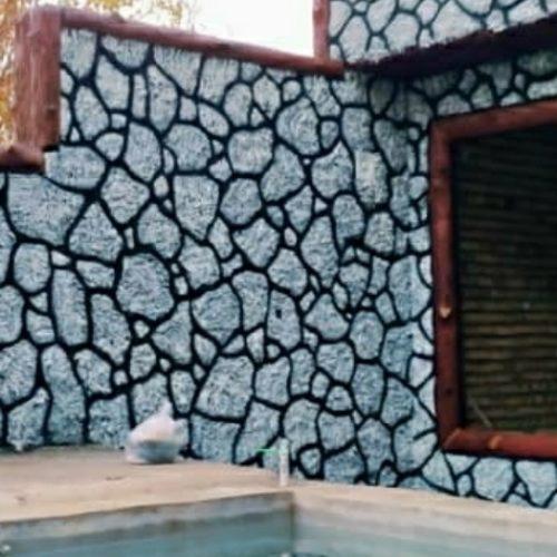 سیمانکاری طرح سنگ طرح چوب