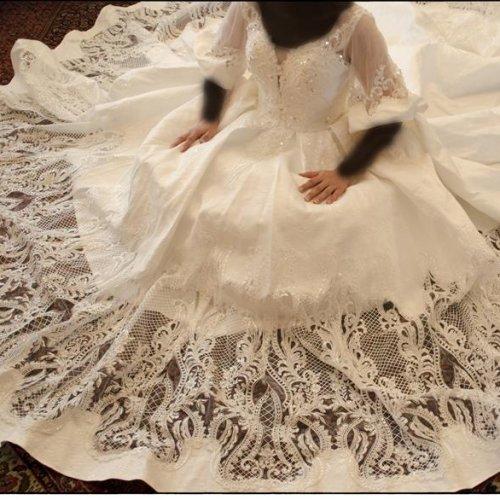 لباس عروس ژورنالی ۲۰۱۸ ، نو و استفاده نشده، خاص و مجلل