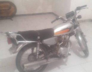 موتور سیکلت هوندا CDI125پنج دنده استارتی سیلندر بزرگ