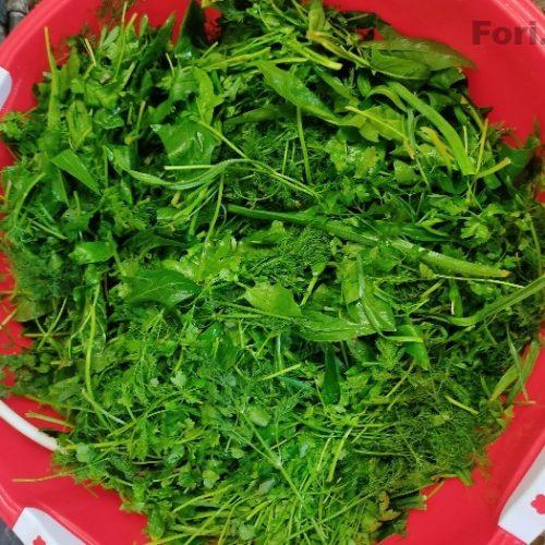 سبزی خورشتی درجه یک با کیفیت