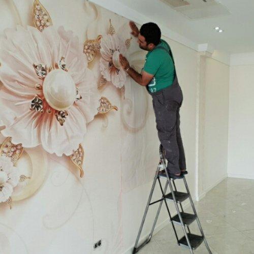 فروش و نصب انواع کاغذ دیواری