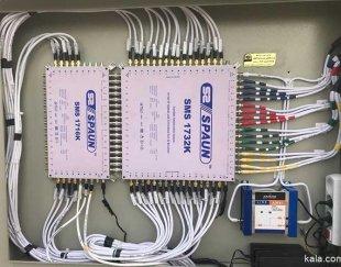 فروش و نصب آنتن مرکزی و دوربین مدار بسته