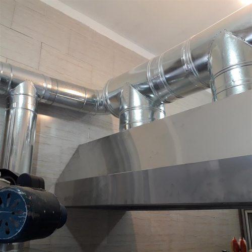 کانال سازی کولر و هود صنعتی و دریچه