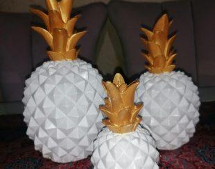 ست ۳تایی آناناس دکوری