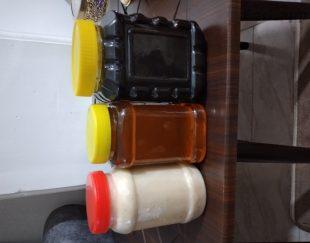 عسل ، روغن حیوانی ، شیره