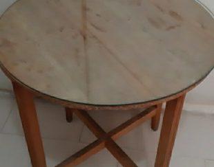 میزخاطره چوبی