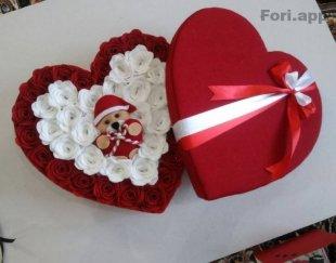 ساخت انواع باکس گل رزمصنوعی درابادان