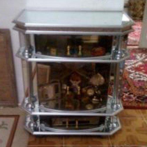 میز تلویزیون آلومینیومی