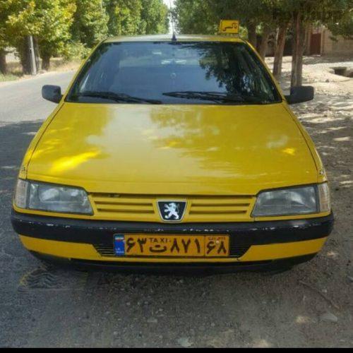 پژو ۴۰۵ تاکسی مدل ۸۶