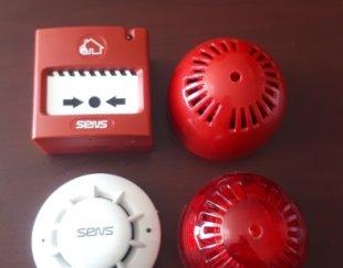 فروش کلیه تجهیزات اتش نشانی(نصب سیستم اعلان و اطفاء)