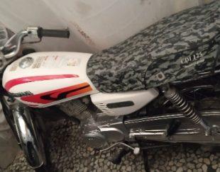 موتور سیکلت هندا ۱۲۵ نو پلاک ملی مدارک کامل