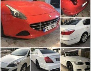 رنت و اجاره انواع ماشینهای ایرانی و خارجی