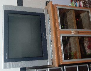 تلوزیون ۲۹ اینچ سامسونگ صفحه تخت با میزش