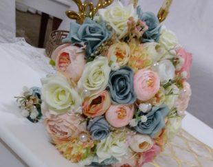 دسته گل عروسی و عقد نو