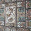 ۳عدد قالیچه خشتی جواهر کاشان نو واکبند