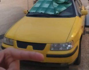 سمند زرد مدل ۸۳