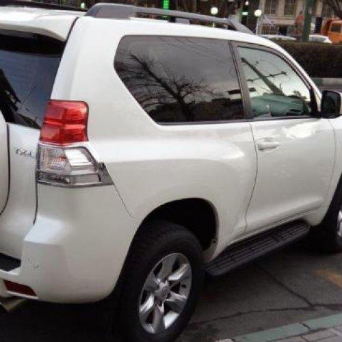 تویوتا پرادو مدل ۲۰۱۲ سفید دو درب
