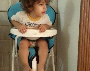 صندلی غذای کودک مارک دلیجان