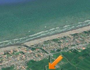 زمین ساحلی زیبا کنار حاجی بکنده
