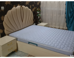 ست کامل تخت خواب دو نفره، میز آرایش و آینه
