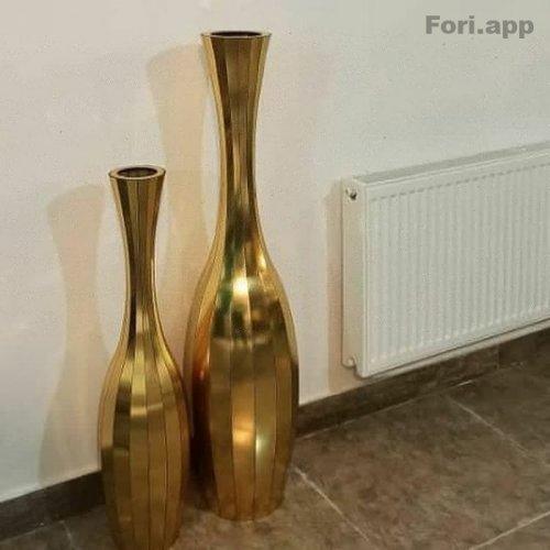 گلدان چوبی