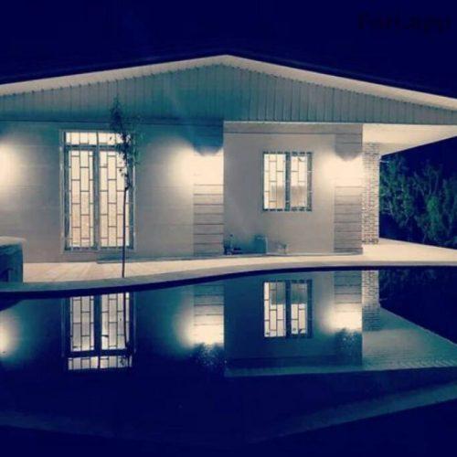 باغ ویلا شیک باسازه ای مدرن