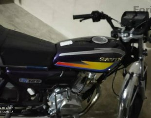 فروش موتور سیکلت مزایده ۱۵۰ استارتی