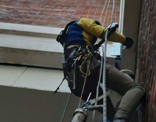 کار در ارتفاع  دسترسی با طناب  راپل