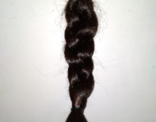 موی مشکی بدون رنگ وبدون حنا