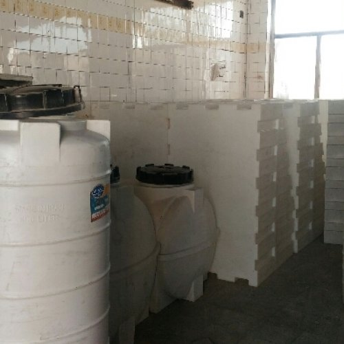 مخزن و تانکر ۱۵۰۰ لیتر زیرپله آتش نشانی