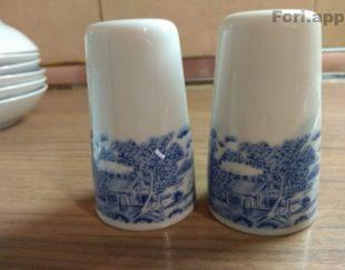 دو دست ظروف چینی غذا خوری بسبار زیبا
