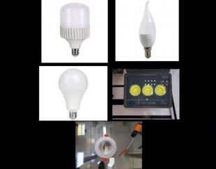 تعمیرات لامپ های LED-SMD-COB