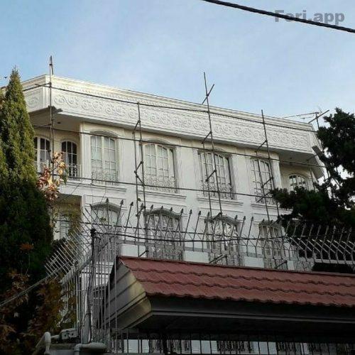 نقاشی ساختمان نما کنیتکس وکاغذ دیواری