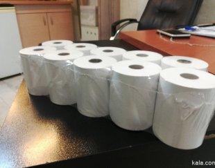 رول حرارتی پرینتری مارک هانسل ایمیج مشکی ۵۰ متری ۵۵ گرمی ۸ سانت کره ای