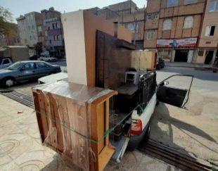 سمساری یوسفی خریدار یخچال خراب سوخته بر میدارم