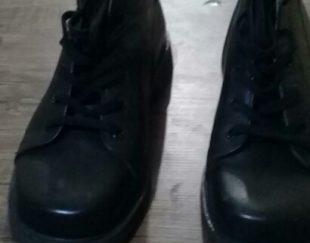 کفش کیکرز نیم بوت مردانه مشکی