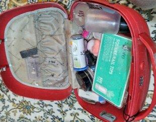 کیف لوازم آرایش و لوازم کاشت ناخن