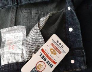 شلوار جین مردانه سایز ۳۳