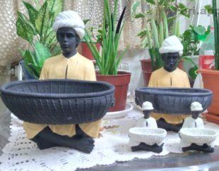 مجسمه تزئینی غلام