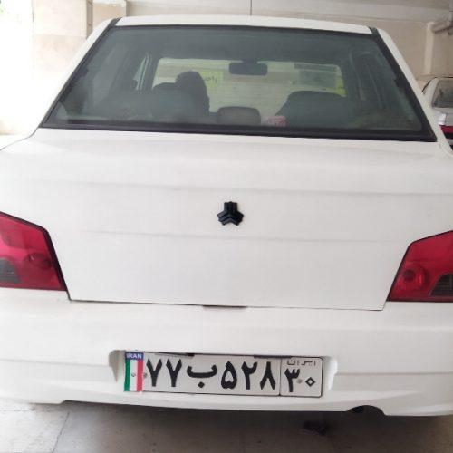 پراید ۱۳۲ سفید مدل ۹۰