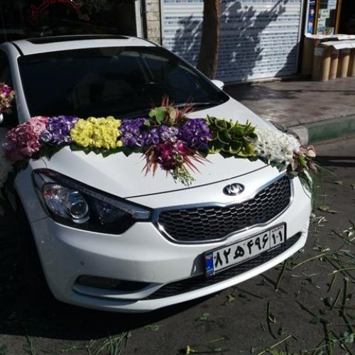 اجاره و گل آرای ماشین عروس
