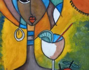تابلو نقاشی بدون قاب