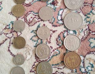 فروش چند سکه قدیمی ایرانی وخارجی