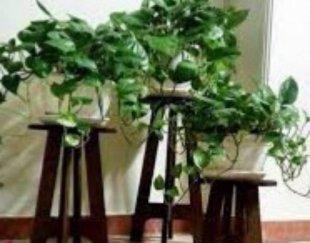 پایه گلدان سه تیکه