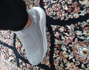 کفش ورزشی جورابی ساق کوتاه سایز۳۸