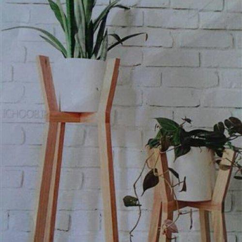 انواع گلدان و تزئینات چوبی با قیمت مناسب