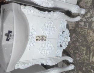 کابینت دستشویی روشویی کلاسیک