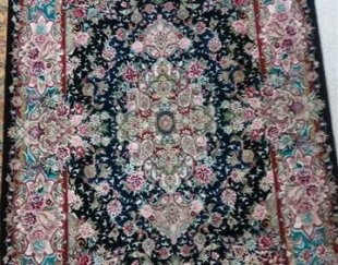 فرش دستباف سالاری گل ابریشم