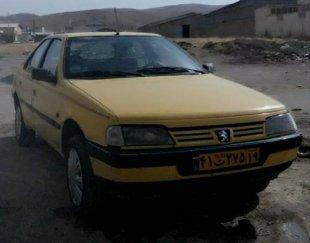 تاکسی پژو ۴۰۵ گردشی شهرکرمانشاه