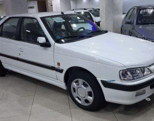پژو پارس tu5 سفید صفرخشک مدل۱۴۰۰